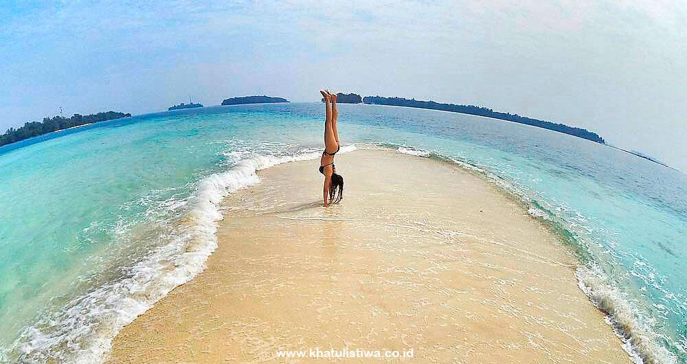 jelajah pulau-pulau Harapan